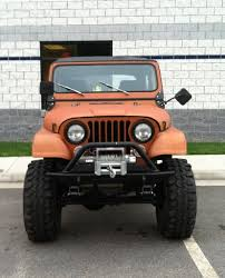 orange jeep cj tequila sunrise my daughter u0027s cj7 project