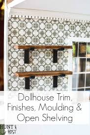 Decor Moulding Price List Dollhouse Finishes Trim And Mouldings One Room Challenge Week 5