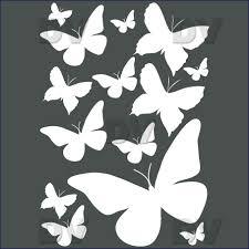 deco papillon chambre ds109 13 stickers papillons deco vitres sticker mural