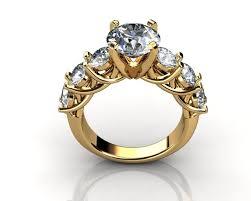 brilliant rings images Brilliant diamond rings diamond jewellery 3d model 3d printable jpg