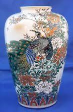Japanese Kutani Vases White Antique Japanese Vases Ebay