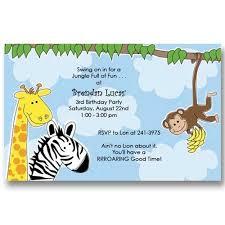 zoo birthday invitations u2013 frenchkitten net