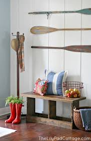 Lake Home Decorating Ideas My Paint Colors 8 Relaxed Lake House Colors Nautical Entryway
