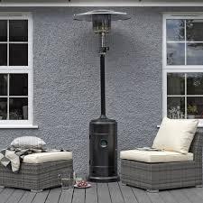 ebay patio heater wallace sacks gas patio heater black 13 5 kw double emitter tilt