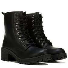 womens combat boots madden eloisee combat boot black
