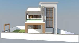 house front elevation design for double floor theydesign net