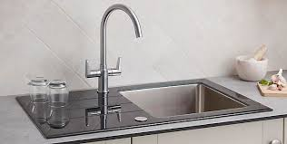 B Q Kitchen Sinks How To Remove Fit A Kitchen Tap Ideas Advice Diy At B Q