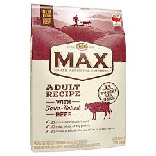 nutro max with farm raised beef and brown rice recipe dry