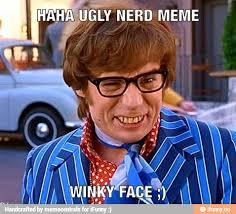 Ugly Smile Meme - nerd meme ifunny
