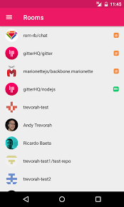 chat apps for android gitter chat for github more 3 1 1 apk android social