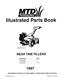 mtd tiller 21a 430 000 user guide manualsonline com