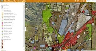 vacaville outlets map geographic information system gis vacaville ca