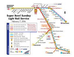 Vta Map Hwr Jan 8 Of Transit And The Nfl The Source