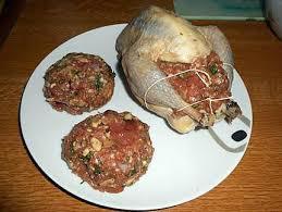 cuisiner du faisan recette de faisan farci et chignons et marrons