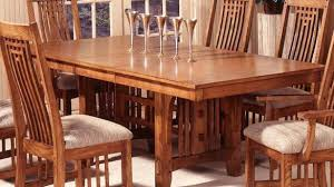dining table mission style dining furniture expanding table