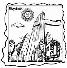 skydeck chicago u203a coloring pages
