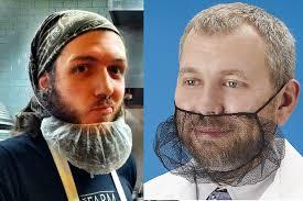 beard nets your cool bearded chef should be wearing a beard net health