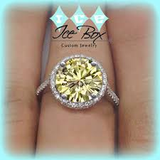 canary yellow engagement rings best canary yellow ring products on wanelo