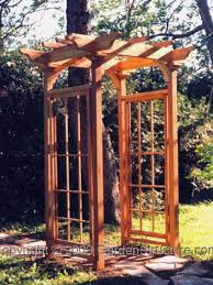 Backyard Arbor Ideas Garden Arbor Designs