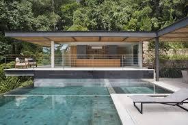 cuisine d été couverte design exterieur piscine à débordement moderne cuisine été couverte