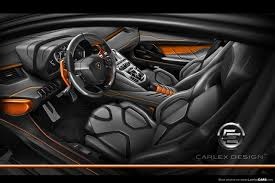 inside lamborghini aventador carlex design interior for the aventador carlex design aventador 4