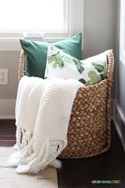 baskets for home decor what to put in a basket for decoration home decorating ideas