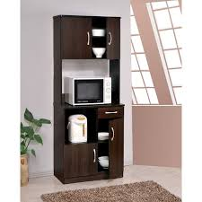 small kitchen cabinets walmart acme furniture quintus espresso kitchen cabinet