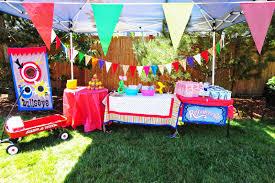 seriously sabrina diy backyard carnival party emily u0027s 8th