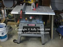 10 Craftsman Table Saw Craftsman 21807 Table Saw Power Tool Review Sears Presents This