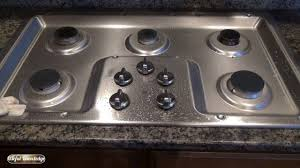 Gas Stainless Steel Cooktop How To Clean Stainless Steel Stove Top With Vinegar Useful