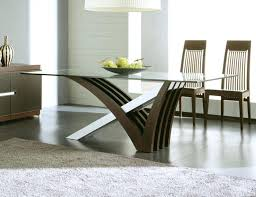 trendy dining room tables trendy dining table and chairs image of glass modern dining table