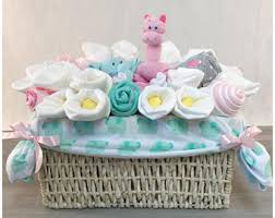 baby shower basket baby shower gift basket etsy