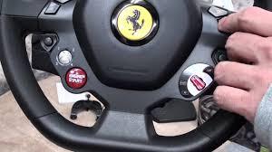 458 italia thrustmaster 458 italia racing wheel for xbox 360