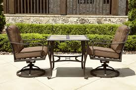 Patio Bistro Sets On Sale by La Z Boy Outdoor Ddyl Bistro Dylan 3pc Bistro Set Sears Outlet