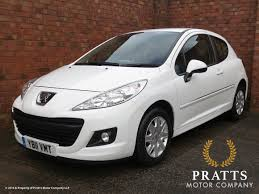 peugeot company car pratts 2011 11 peugeot 207 access 1 4 white 3dr