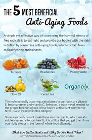 the 5 most beneficial anti aging foods