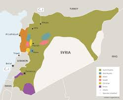 Damascus Syria Map by Maps To Help You Understand The Syrian War The American Interest