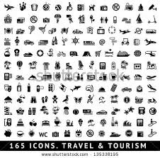 travel symbols images 165 icons travel symbols tourism signs stock vector hd royalty jpg