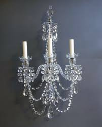 Antique Crystal Chandelier Sconce Crystal Wall Sconces For Candles Chandelier Wall Sconce