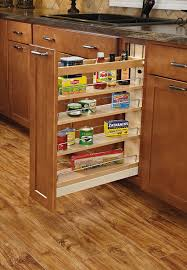 Kitchen Cabinets Slide Out Shelves by Amazon Com Rev A Shelf 448 Bcsc 5c 5 In Pull Out Wood Base