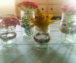 Mason Jar Arrangements Mason Jar Centerpieces That Will Tickle Your Senses