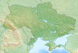 Where Is Monaco Located On A Map Map Of Ukraine Detailed Map Of Ukraine With Regions And Cities