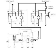kontaktor magnit relay sebagai pengaman sepeda motor