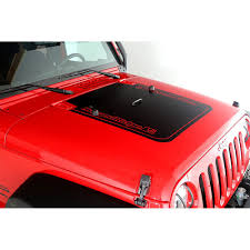 jeep wrangler logo decal rugged ridge 12300 11 wrangler jk hood decal black with rugged