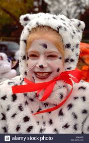 in dalmatian costume at the anoka halloween festival age 12