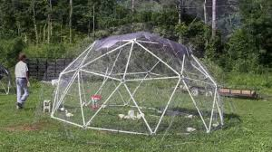 Geodesic Dome Home Floor Plans by Building A Geodesic Chicken Coop For Pastured Poultry Youtube