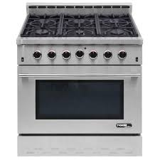 Entree by Nxr Entree 36 In 5 5 Cu Ft Professional Style Gas Range With