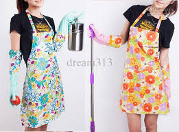 Apron Designs And Kitchen Apron Styles Pvc Home Kitchen Apron Pastoral Style Craft Commercial Restaurant