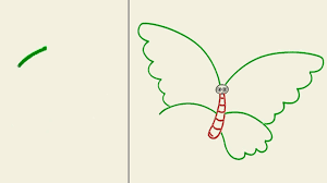 butterflies how to draw a butterfly very easy step by step
