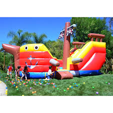 wet dry obstacle game pirate ship party pirate ship anchor